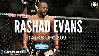Rashad Evans on UFC 209 Loss: