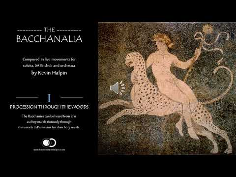 The Bacchanalia - 1st movement by Kevin Vincent Halpin