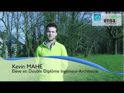 Kevin MAHE, double-diplôme ingénieur-architecte