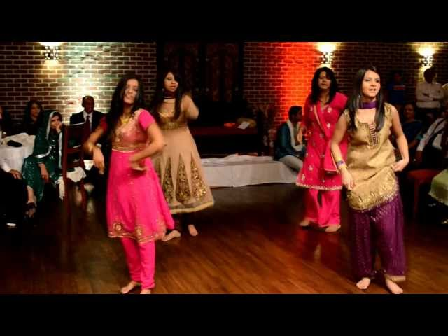 Sisters of the Groom Dance from Indian/Pakistani Wedding Travel Video