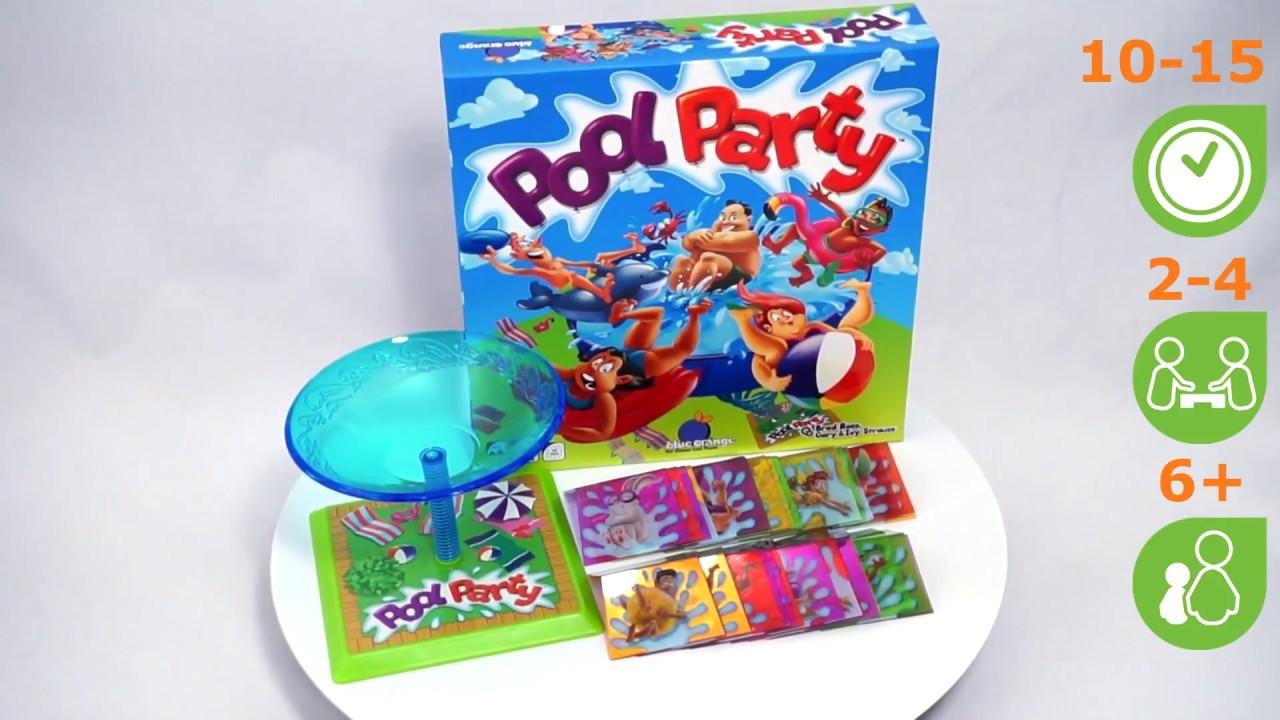 Веселье у бассейна (Pool Party). Обзор настольной игры от компании Стиль Жизни