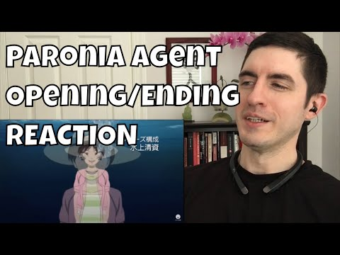 Paranoia Agent Opening And Ending REACTION