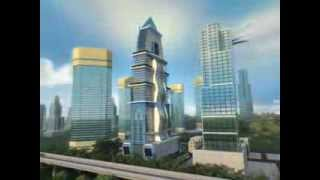 Sanali Iconic Tower at City Of Arabia Dubai by Sanali Group.