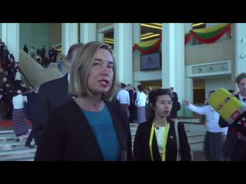 High Representative F. Mogherini ahead of the 13th ASEM Foreign Ministers meeting (part 2)
