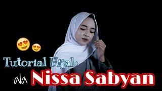 TUTORIAL HIJAB ALA NISSA SABYAN | Wemmie Triyani #9