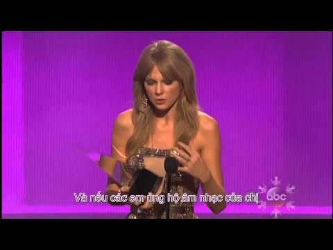 [Vietsub] AMA Artist of the year - Taylor Swift