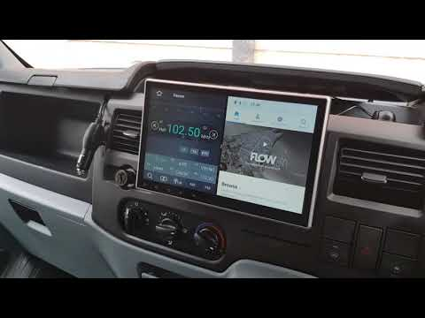 Xtrons te103ap Android Head Unit - Ford Transit