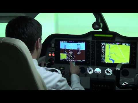 ILS Approach in FNPT II - Baltic Aviation Academy