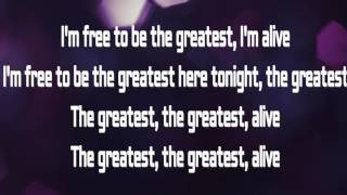 Sia  The Greatest feat  Kendrick Lamar Letra