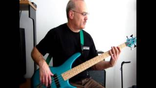 Blue Morning Blue Day: Bass Cover