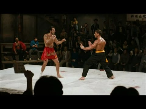 Полуфинал из фильма Кровавый спорт 1988 г. Ван Дамм