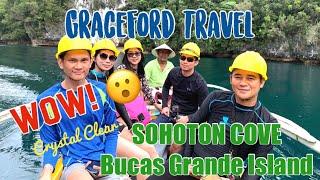 Enchanting Sohoton Cove, Bucas Grande Island Adventure in Mindanao | PHILIPPINES - GraceFord Travel