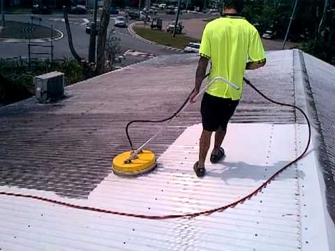 Sunshine Extreme Pressure Cleaning Roof Cleaning Youtube