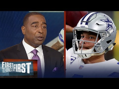 Nick and Cris on expectations for Dak Prescotts 3rd season with Cowboys | NFL | FIRST THINGS FIRST
