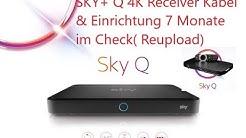SKY+ Q 4K Receiver Kabel & Einrichtung 7 Monate im Check einfach super