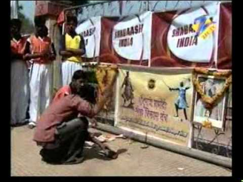 Suraj Dholi In Shabaash India Travel Video