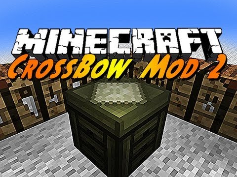 minecraft mods crossbow mod 2 youtube. Black Bedroom Furniture Sets. Home Design Ideas