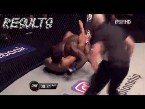 ONE FC 63 • Aung La N sang vs Alain Ngalani - ONE Championship 63: Hero's Dream Results