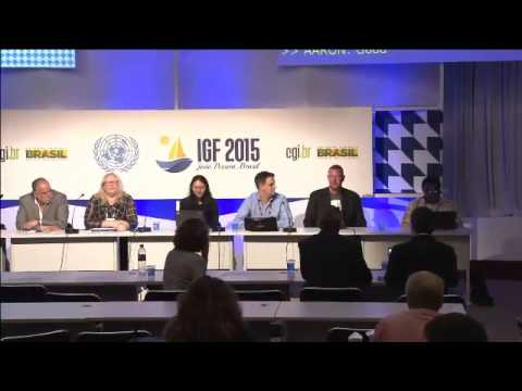 IGF 2015  Day 4 - WK 6 - Open Forum - European Broadcasting