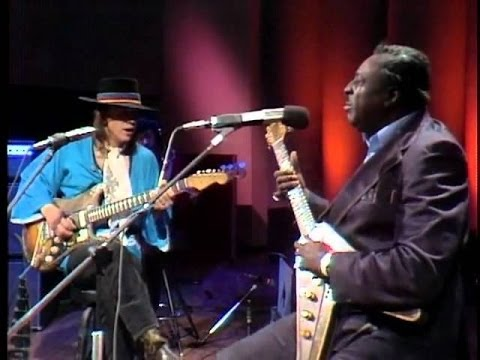 Albert King and Stevie Ray Vaughan  Born Under A Bad Sign   HD