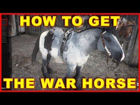 Red Dead Redemption 2: How To Get War Horse (Redeem Preorder Bonus)