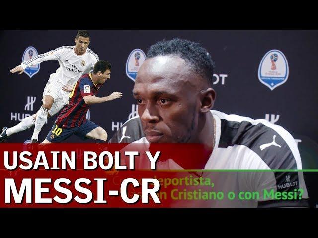 Usain Bolt y la comparación Messi-Cristiano que escocerá al portugués   Diario AS