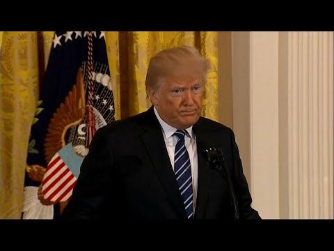 Trump Calls School Shooting in Santa Fe an `Absolutely Horrific Attack'