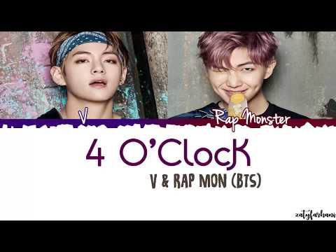 BTS V x Rap Monster – 4 O'CLOCK (네시) Lyrics [Color Coded_Han_Rom_Eng]