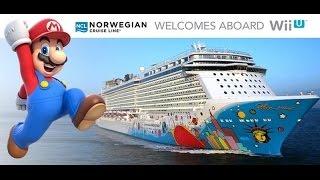 Norwegian Cruise Line and Nintendo Wii U Partnership And Call of Duty Ghosts Wii U Below 1