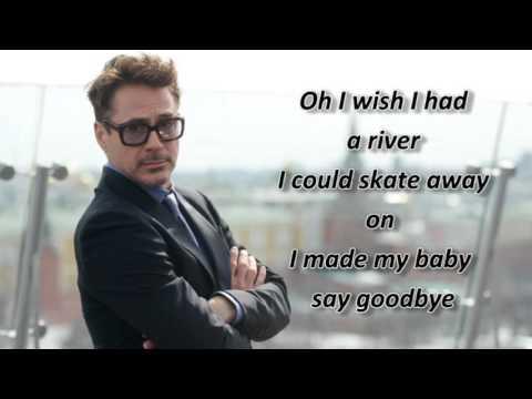 Robert Downey Jr - River - Lyrics