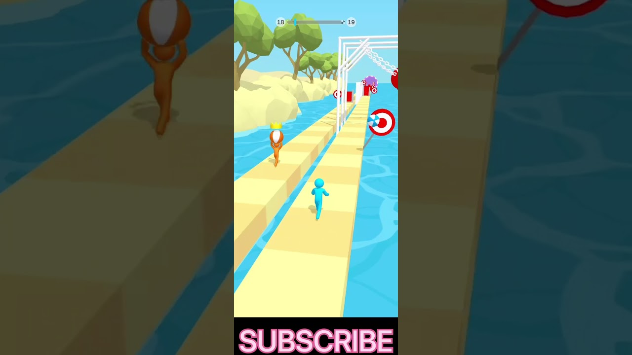 My Tricky Track Game Level: 18 Video, Best Android GamePlay #18./#FIREshorts/#TrickyTrack3D #shorts