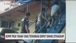 Polisi Tangkap Sopir Truk Oleng Timpa Mobil di Tangerang
