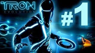 TRON: Evolution - Capítulo 1: Reinicio (1) - En Difícil y español - Parte 1