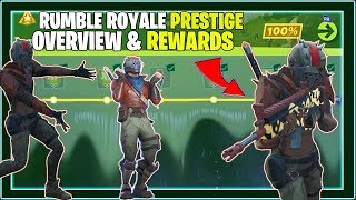 Rumble Royale Mission Aperçu (Prestige Challenges, Rewards, Team Rumble) Fortnite Saison 10