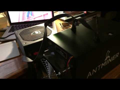 Antminer S3 Unboxing