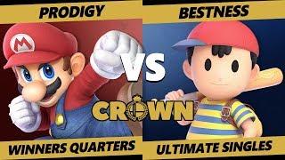 Crown 2019 SSBU - Armada   Prodigy (Mario) Vs. Armada   BestNess (Ness) Smash Ultimate Tournament WQ