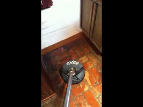 How to clean a brick kitchen floor