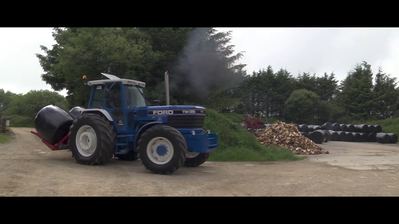 Tractor Going Right On Man : Grassmen win our tw youtube