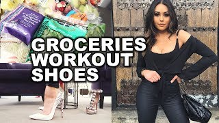 A DAY IN THE LIFE: Roxette Arisa (Healthy Grocery Haul, My Workout Routine and Shopping!)