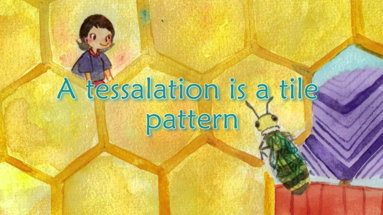 tessalation a children u0027s picture book about tessellations youtube