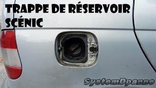 Trappe de réservoir Renault Scénic