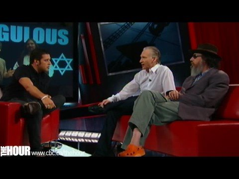 Bill Maher and Larry Charles on The Hour with Strombo