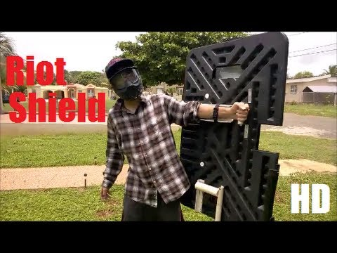 Episode 13 homemade riot shield HD
