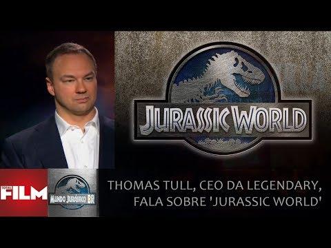 Thomas Tull, CEO da Legendary, fala sobre 'Jurassic World'