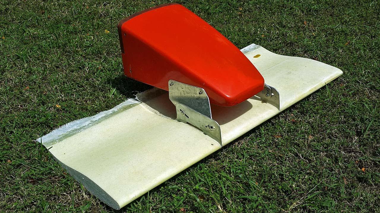 Formula Race Car Front Wing Moldless Fiberglass Foam