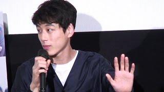 映画『ヒロイン失格』トークイベントが2015年9月7日に行われ、坂口健太...