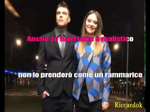 karaoke MAGNIFICO FEDEZ FT.FRANCESCA MICHIELIN