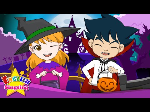Trick Or Treat - Halloween Song - Happy Halloween Day - English Song For Kids - Music