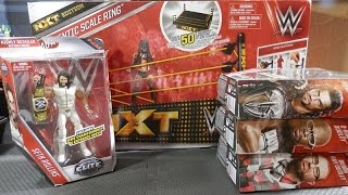 WWE Mattel Elite 45 - NXT Authentic Scale Ring - More | WWE Figure Unboxing