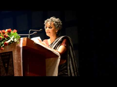 Author, Actress and Political Activist Arundhati Roy in constitution day celebration Patna 25 nov 20